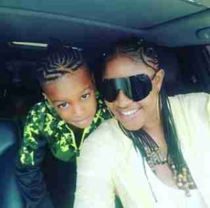 Actress Angela Okorie & Her Braided Son Swagged Up In New Photos